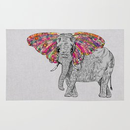 Bella The Happy Butterphant Rug
