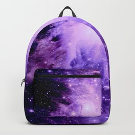 Orion nebUla. : Purple Galaxy Backpack