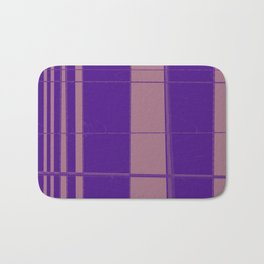 From narrow tiles to wider tiles abstract design Bath Mat