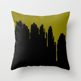 Dripping Potion Throw Pillow