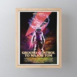 Rocket man (former Space Oddity) Framed Mini Art Print