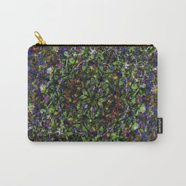 Bee in Flowers Carry-All Pouch