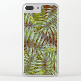 Leaves #1 Clear iPhone Case