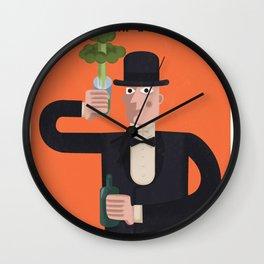 Uranium, delicious uranium Wall Clock