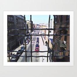 wrong turn in brooklyn Art Print