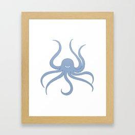 Cute octopus Framed Art Print