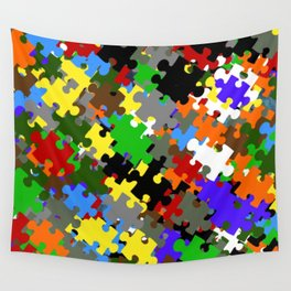 Puzzle Stones Wall Tapestry