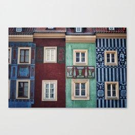 Details of Poznan Canvas Print