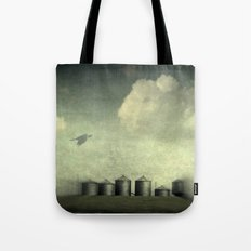 Silos of the Prairies Tote Bag