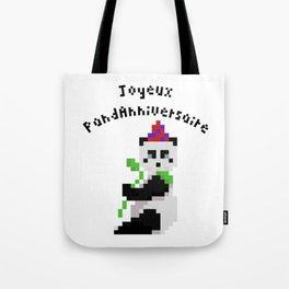 PandAnniversaire Tote Bag