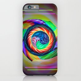 Abstract in perfection 121 iPhone Case