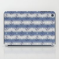 anchors iPad Cases featuring Anchors by Vickn