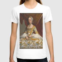 Miguel Cabrera - Doña María de la Luz Padilla y (Gómez de) Cervantes T-shirt