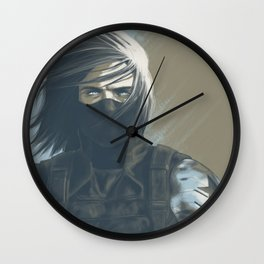Marinette Stare Wall Clock
