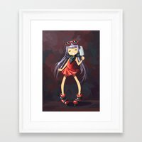 popsicle Framed Art Prints featuring Popsicle by Freeminds