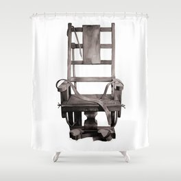Electric Chair  Shower Curtain