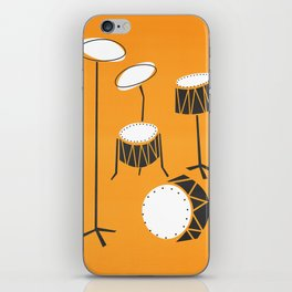 Drum Kit Drummer iPhone Skin