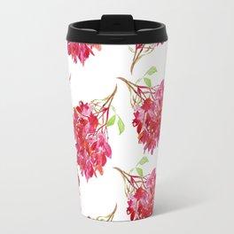 Bougainvillea Pattern Travel Mug