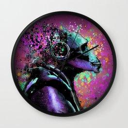 Splatter Ape Wall Clock