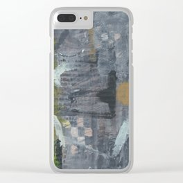 2017 Composition No. 41 Clear iPhone Case