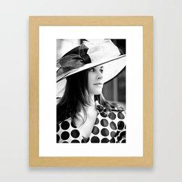 Derby City Girl Framed Art Print