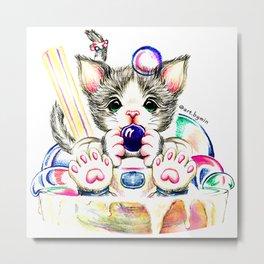 Kitten In BBT 2020_1 Metal Print