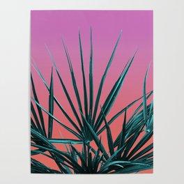 Pink Palm Life - Miami Vaporwave Poster