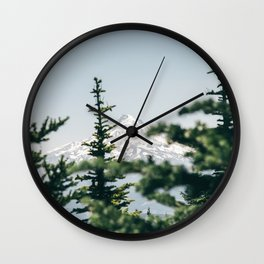 Mount Hood XVI Wall Clock