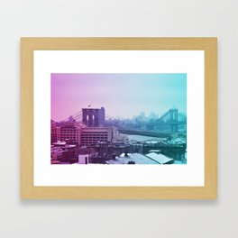 Spring in winter II Framed Art Print