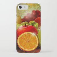 fruits iPhone & iPod Cases featuring fruits by ErsanYagiz