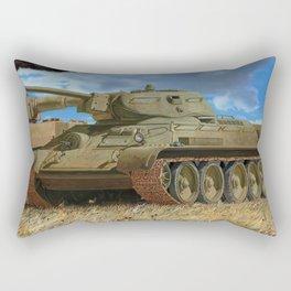 T34 tank Rectangular Pillow