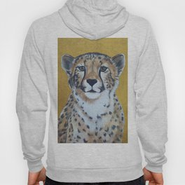 Cheetas, acrylic on canvas Hoody