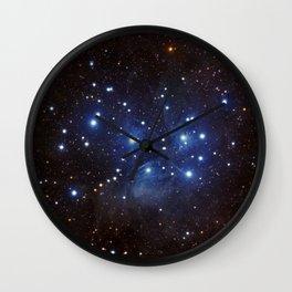 Pleiades Wall Clock
