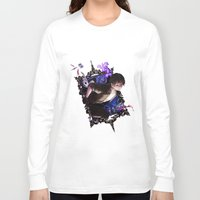 iris Long Sleeve T-shirts featuring Iris by Velocesmells