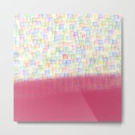 AbstracT squares Metal Print