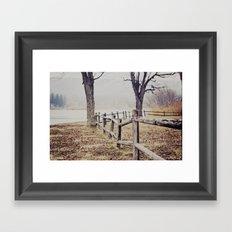 jamesville beach Framed Art Print