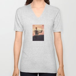 """""""Did you just honk at me...?"""" Unisex V-Neck"""