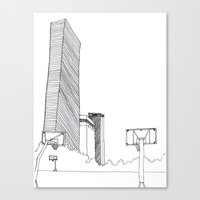 seoul Canvas Prints featuring SEOUL MOMENT_03 by By-EunEun