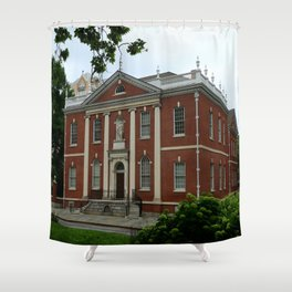 Old Town Philadelphia Shower Curtain