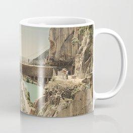 """The most dangerous trail in the world"". El Caminito del Rey Coffee Mug"