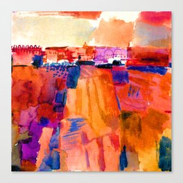 Paul Klee Kairouan Canvas Print