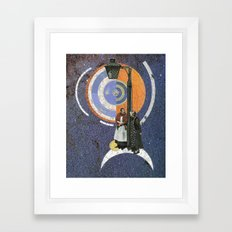 Waiting Forever Framed Art Print