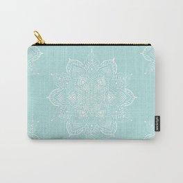 Winter Spirit Mint Carry-All Pouch