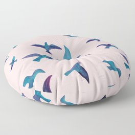 Birds II Floor Pillow