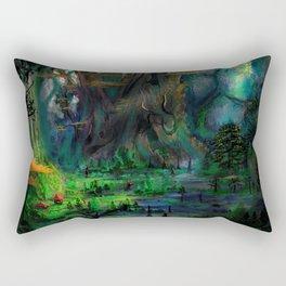 The Ancient Swamp Rectangular Pillow