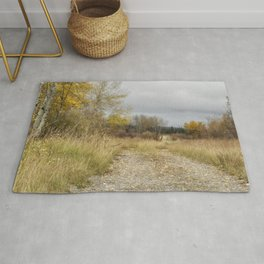 A Walk in Willow Flats - Grand Tetons Rug