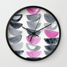 Bowls #4 Wall Clock