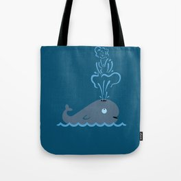Iconic Whale Tote Bag