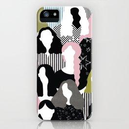 GIRL GANG iPhone Case