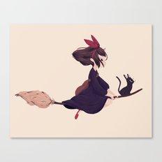 Kiki Canvas Print